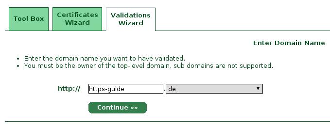 Kostenloses Zertifikat von StartSSL | HTTPS-Guide.de